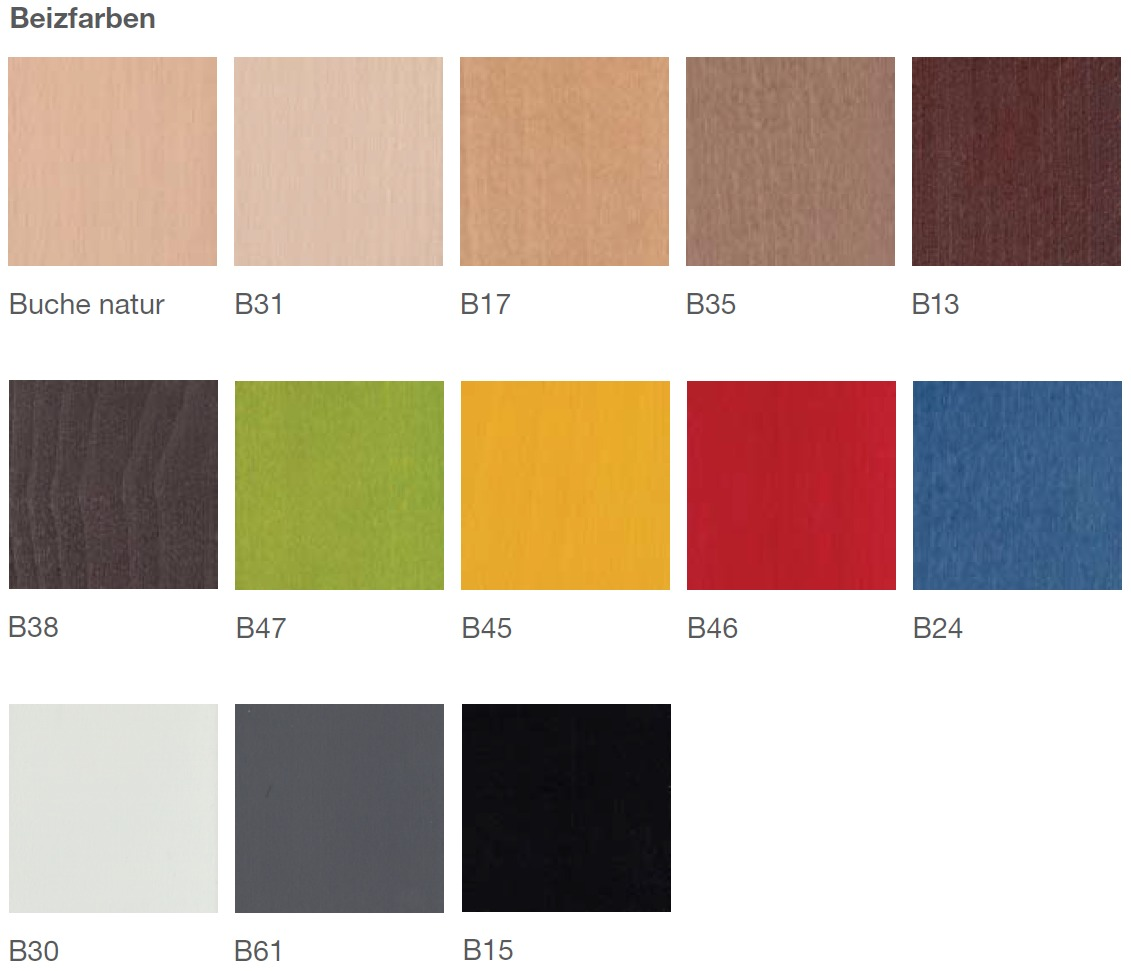 Brune Kunststofffarben Sitzschalen
