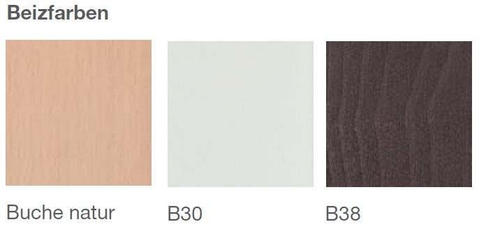 Brune Beizfarben Sitzschalen