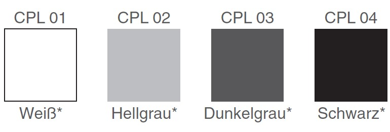 Brune CPL Sitzschalen